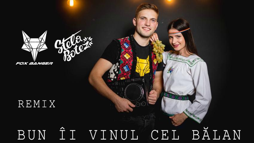 """Foto: Premieră! Stela Botez în colaborare cu DJ Fox Banger a lansat remixul piesei ,,Bun îi vinul cel bălan""""! Ascultă cum răsună folclorul pe ritmuri moderne"""