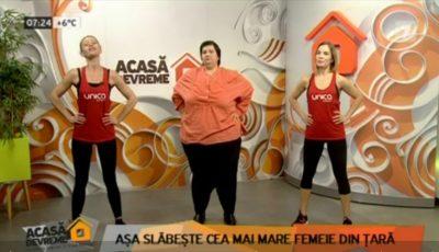 """Svetlana Cveatcovscaia, în vizită la ,,Acasă Devreme""""! Iată ce exerciții fizice face pentru a slăbi"""