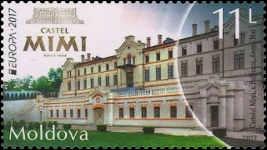 Foto: Moldova a obținut locul 3 la concursul celor mai frumoase timbre poștale din Europa