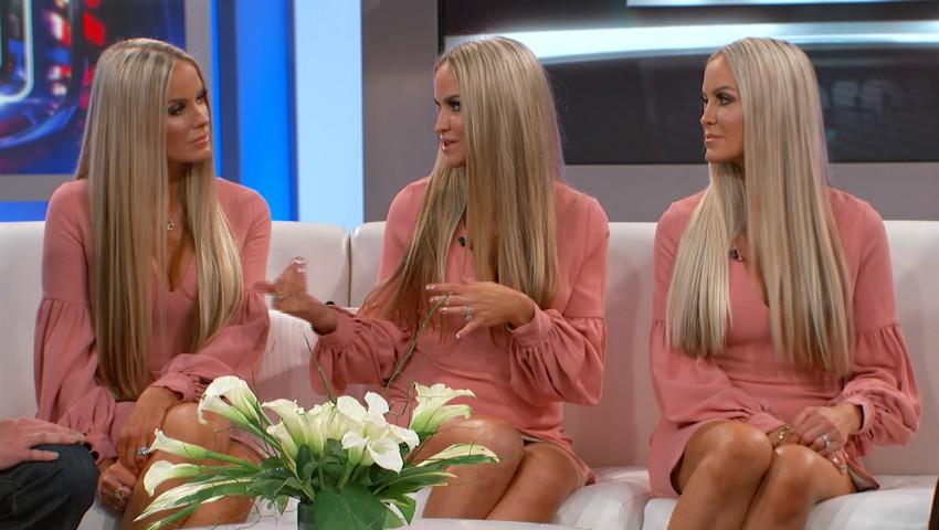 Cele mai sexy triplete din lume și-au făcut un test ADN. Rezultatul este uimitor