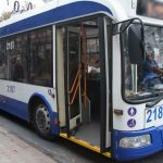 Foto: Atenție! O rută de troleibuz din Capitală a fost suspendată