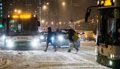 Moscova a fost lovită de primul viscol din acest an