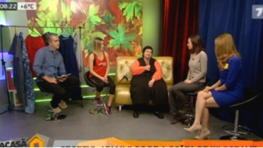 Foto: Galina Tomaș oferă cele mai bune sfaturi de slăbit pentru toți cei care doresc să scape de kilogramele în plus!