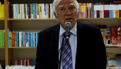 Spiridon Vangheli a amânat lansarea ultimei sale cărți din cauza unei probleme de sănătate