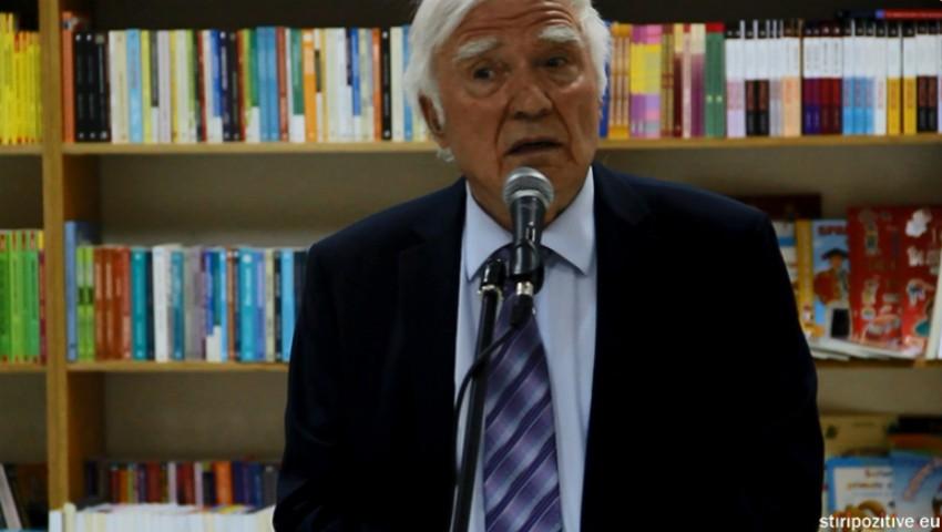 Foto: Spiridon Vangheli a amânat lansarea ultimei sale cărți din cauza unei probleme de sănătate