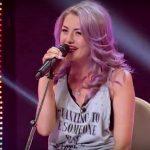 """Foto: Vera Țurcanu, din Ialoveni, a luat patru de ,,DA"""" la X Factor. Tânăra a interpretat o piesă rock"""