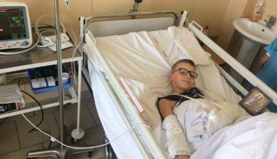 Să-l ajutăm pe Denis Lazaresco. 40 de mii de euro sunt banii care îl pot ajuta, să ducă o viață normală!
