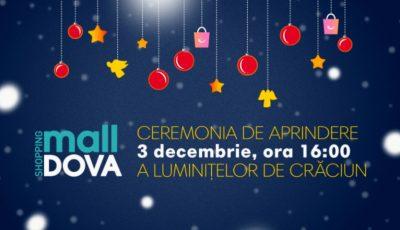 La Shopping MallDova începe feeria sărbătorilor de iarnă!