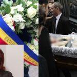 Foto: Actrița Stela Popescu a fost înmormântată cu onoruri militare. Foto/video de la funeralii