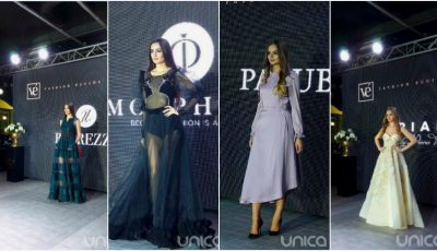 "Designeri talentați, modele superbe și ținute spectaculoase la ""Privé Fashion Events""!"