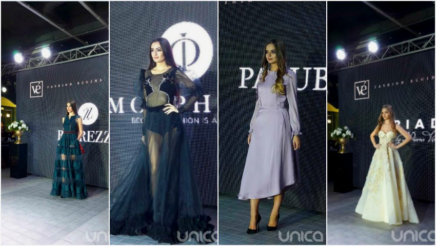 "Foto: Designeri talentați, modele superbe și ținute spectaculoase la ""Privé Fashion Events""!"