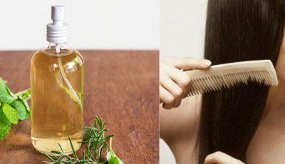 Prepară-ți acasă un spray cu uleiuri naturale pentru păr!