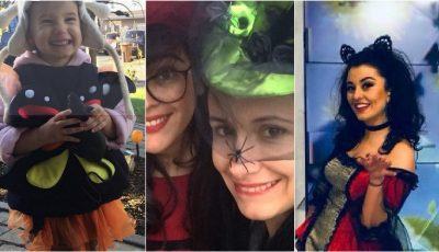Vedetele autohtone și copiii lor s-au costumat de Halloween!