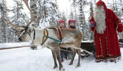 Un băiat din Chișinău va pleca în Laponia pentru a-l întâlni pe Moș Crăciun