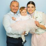 Foto: O ședință  foto exclusivă cu fiica lui Anatol Durbală și a Olesei Sveclă: când fericirea are numele Cassandra!
