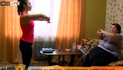 Svetlana Cveatcovscaia continuă lupta cu kilogramele în plus
