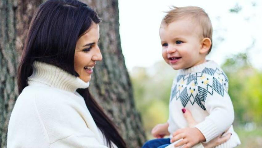 Foto: Cristina Croitoru, într-o ședință foto emoționantă cu fiul ei!