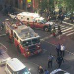 Foto: Atac terorist la New York. Un bărbat a intrat cu camionul într-un grup de bicicliști: 8 oameni au murit