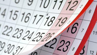 Acestea sunt zilele de sărbătoare în care bugetarii vor sta acasă în anul 2018