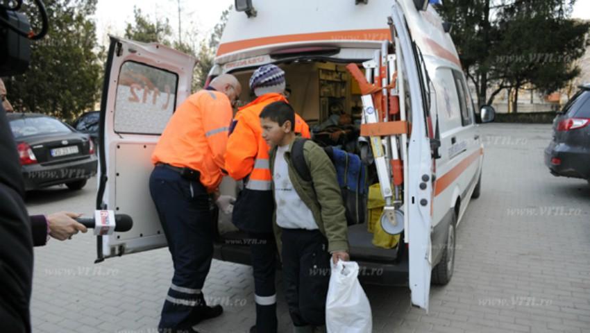 Un băiat de opt ani din România a ajuns la spital în comă alcoolică