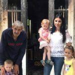 Foto: Locuința lui Gheorghe Erizanu, mistuită de flăcări astă-vară, a fost reconstruită!