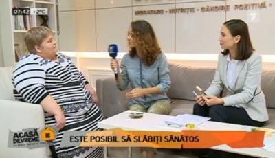 Nadejda urmează exemplul Svetlanei Cveatcovscaia. A slăbit 11 kg într-o lună!
