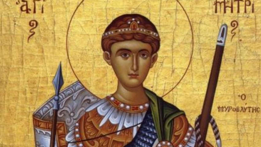Foto: Astăzi este sărbătorit Sfântul Dimitrie, Izvorâtorul de mir. Tradiții și obiceiuri