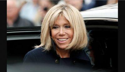 Prima doamnă a Franței ocolește rujurile în culori stridente și oja colorată