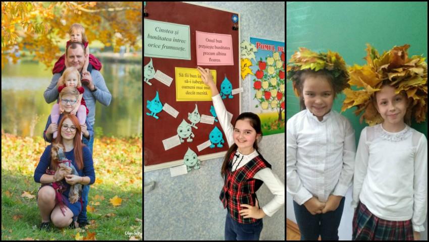Foto: Ce școli frecventează copiii vedetelor de acasă?