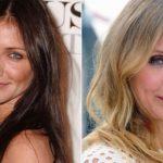 Foto: 10 blonde celebre pe care nu le-ai văzut niciodată cu părul brunet
