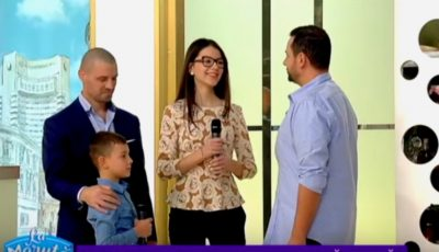 """Video! Familia lui Pavel Stratan a făcut senzație în platoul emisiunii ,,La Măruță"""""""