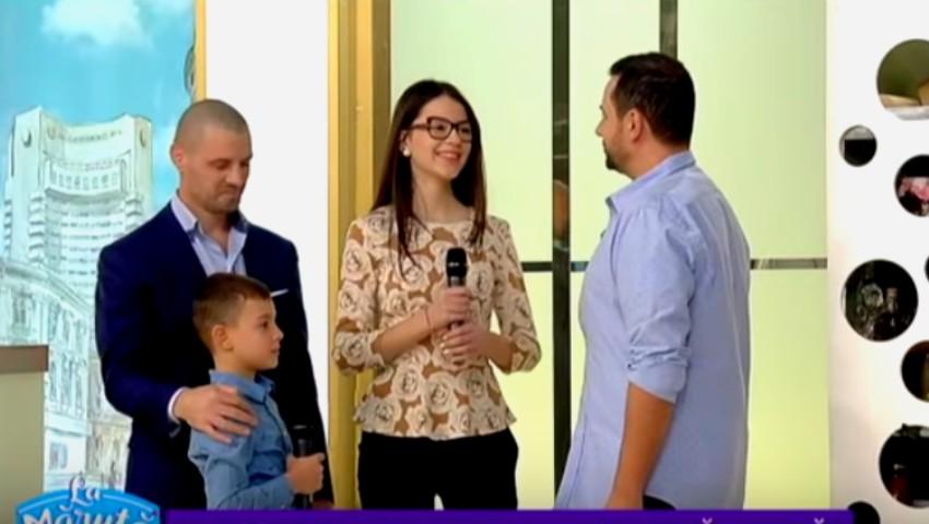 """Foto: Video! Familia lui Pavel Stratan a făcut senzație în platoul emisiunii ,,La Măruță"""""""