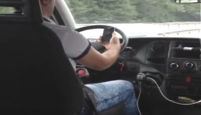 Ce a făcut șoferul unui microbuz din Capitală, după ce un hoț de buzunare a fost prins în flagrant în vehiculul pe care îl conducea