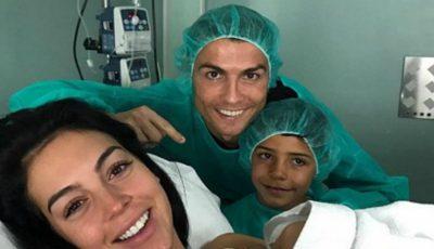 Cristiano Ronaldo, tată pentru a patra oară! Iubita fotbalistului a născut o fetiță. Iată ce nume va purta