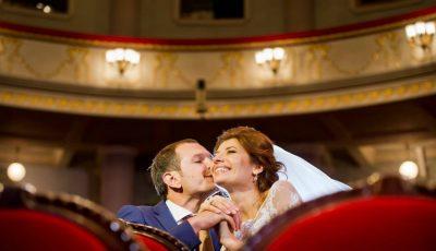Veronica Ghimp face astăzi doi ani de căsnicie