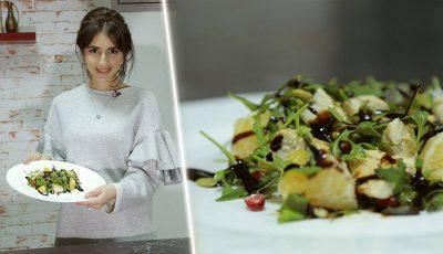 Elena Bivol se pricepe nu doar la design vestimentar, ci și la gătit