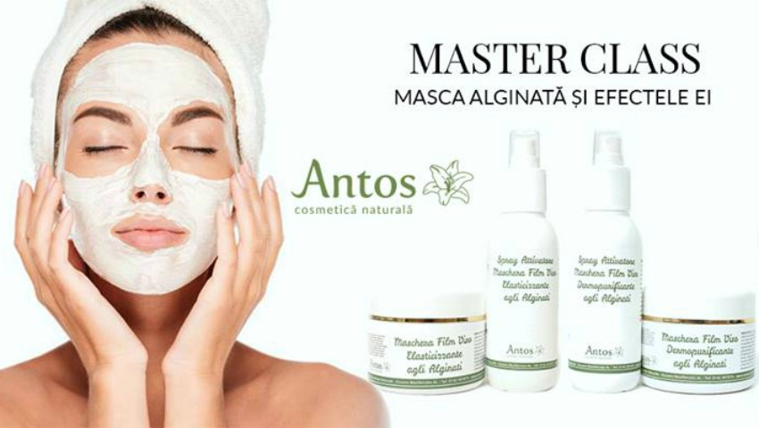 Master class Antos: Masca Alginată și efectele ei!