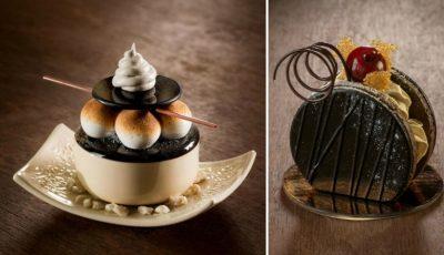 Artista care face dulciuri din porțelan