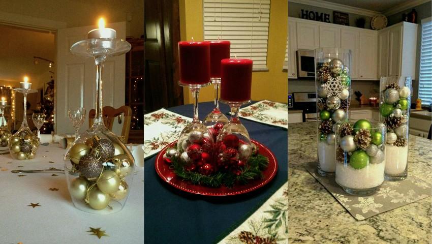 Foto: Decorațiuni inedite de Crăciun pe care le poți face cu ajutorul paharelor. Ce frumusețe!