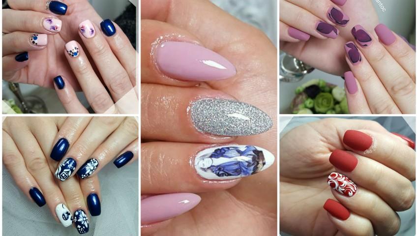 Foto: Cele mai trendy modele de manichiură. Nail artista Ina Ivanţoc îţi recomandă să optezi pentru o manichiură, care să te facă fericită
