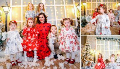 """""""Povestea de iarnă"""" prima colecţie de haine pentru copii by Veronica Croitoru"""