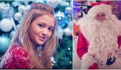 Video! Iuliana Beregoi a lansat o piesă nouă, în spiritul Crăciunului