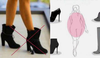 Cum să alegi încălțămintea în funcție de tipul siluetei pe care o ai