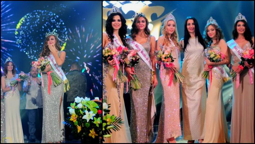 """Foto: O tânără din Moldova a câștigat titlul ,,Miss Odesa Worldwide 2018"""""""