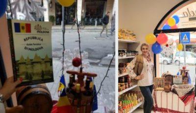 O moldoveancă și-a deschis propriul magazin cu produse autohtone în Italia