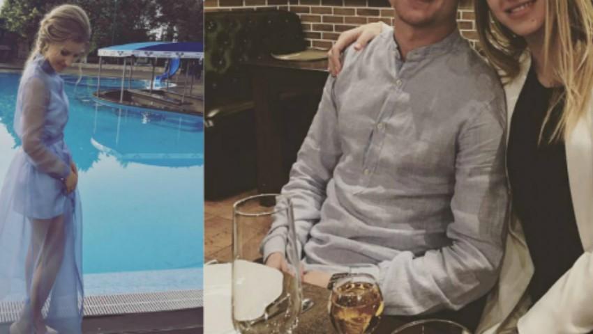 Foto: Un fotbalist moldovean și-a cerut iubita de soție