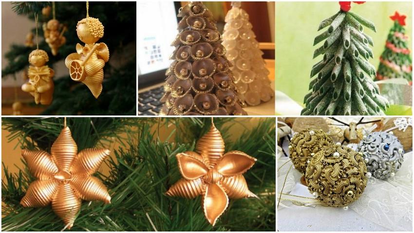 Foto: Decorațiuni pentru pomul de Crăciun pe care le poți confecționa singur!
