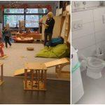Foto: O mămică stabilită în Germania și-a dus prima zi copilul la grădiniță. Poze și impresii