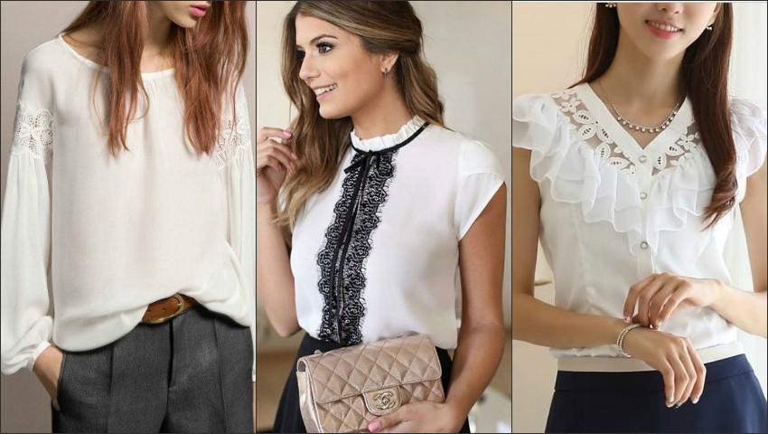 Foto: 18 modele de bluze albe și cămăși care vor fi mereu în tendințe!