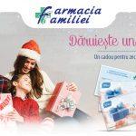 """Foto: Alege să oferi un voucher cadou """"Sănătate și frumusețe"""" de la Farmacia Familiei"""